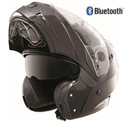 casco bluetooth integrato foto
